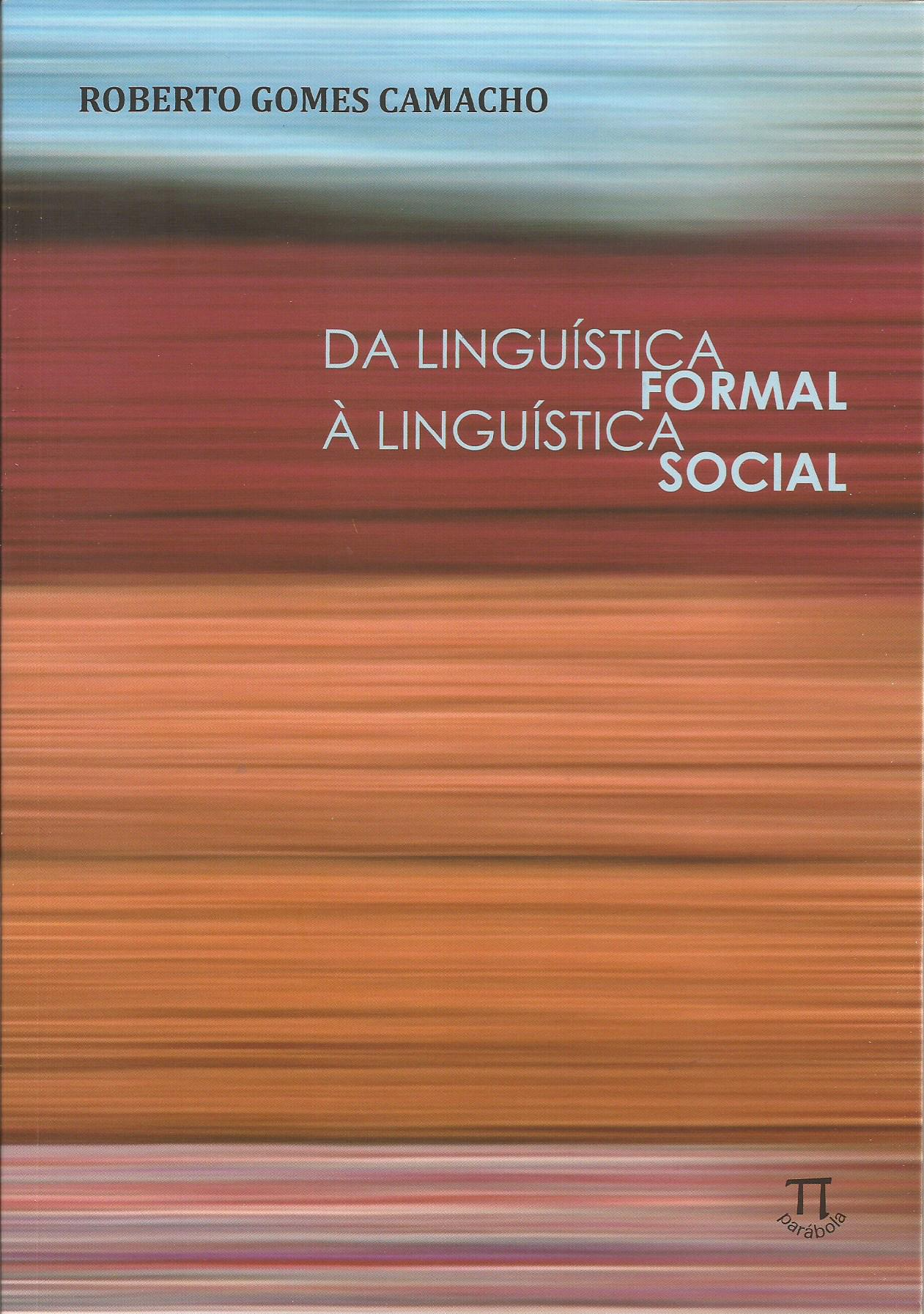 Da linguística formal à linguística social