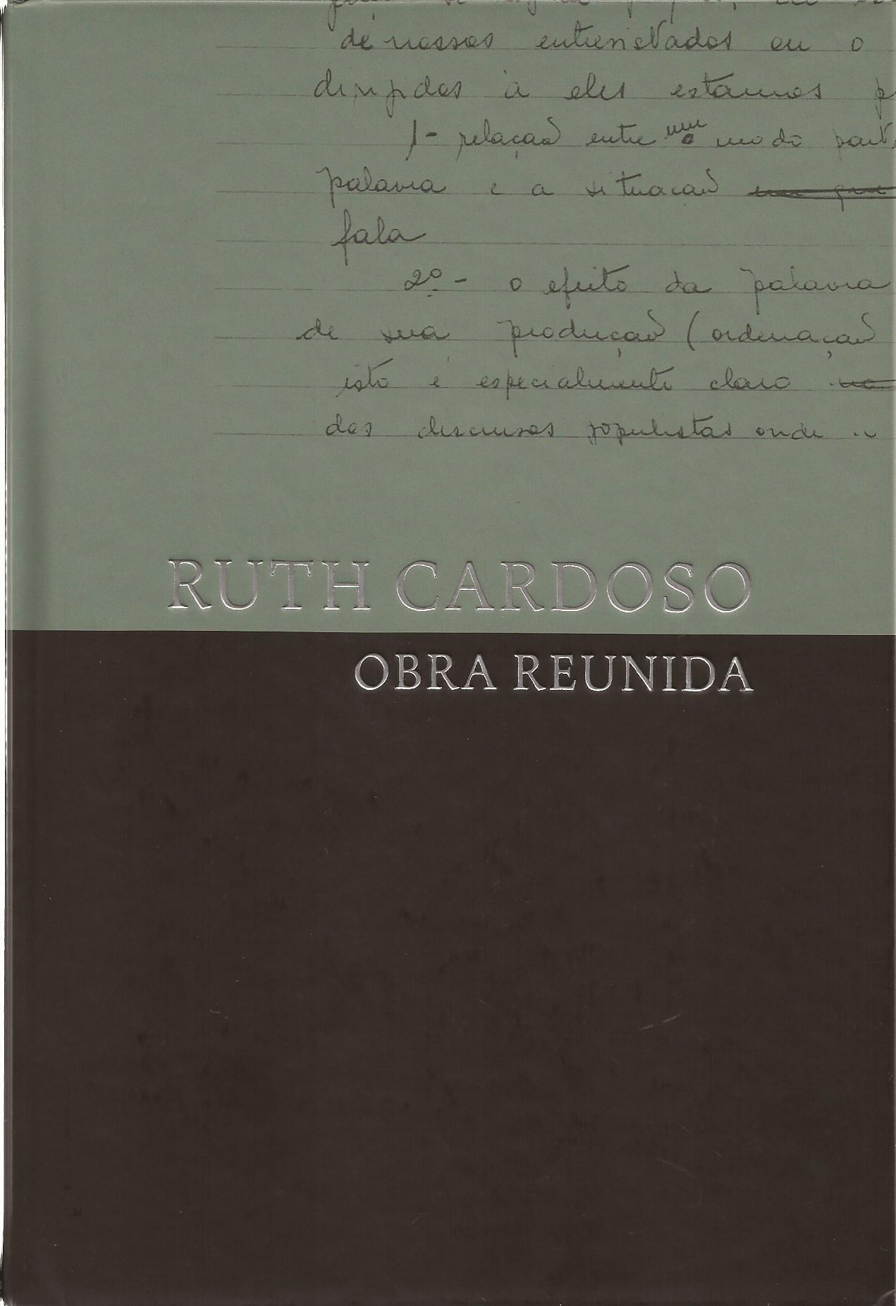 Ruth Cardoso: obra reunida