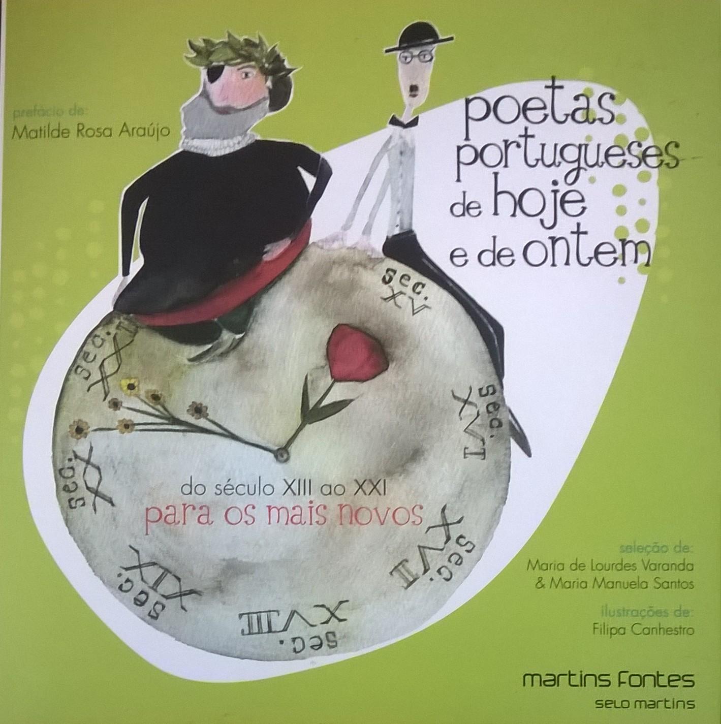 Poetas portugueses de hoje e de ontem – do século XIII ao XIII para os mais novos